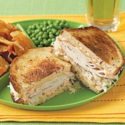 Turkey Reubens recipe