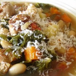 Tuscan White Bean Soup recipe