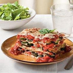 Fresh Vegetable Lasagna recipe