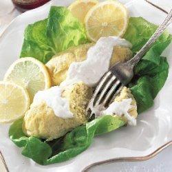 Smoked Whitefish Gefilte Fish with Lemon-Horseradish Sauce recipe