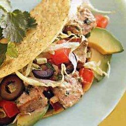 Fresh Tuna Tacos recipe