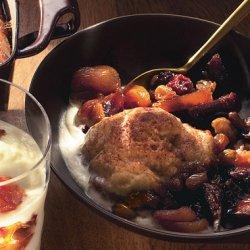Dried Fig, Apricot, and Cherry Slump recipe