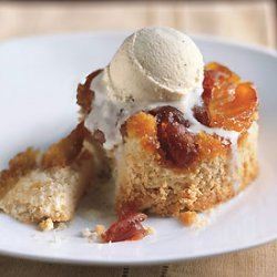 Caramel Apple Upside-Down Cakes recipe