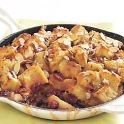 Apple and Dried Cherry Custard Bread Pudding recipe