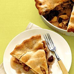 Apple Pie with Whisky-Soaked Cherries recipe