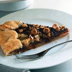 Pear, Chocolate, and Hazelnut Crostata recipe