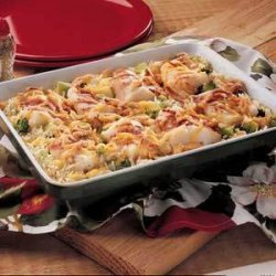 Baked Fish (Cod) and Rice recipe