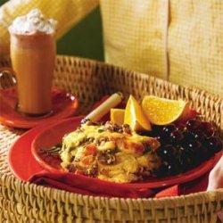 Southwest Breakfast Strata recipe