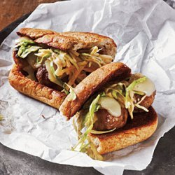 Turkey Meatball Reuben Subs recipe