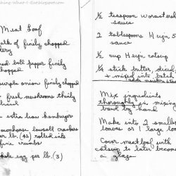 Mike's Meatloaf recipe