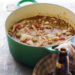 Chicken, Quinoa, and Green-Olive Stew recipe