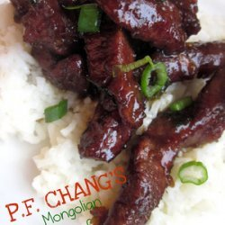 P.F Chang's Mongolian Beef recipe