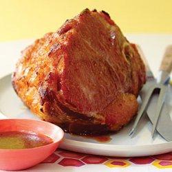 Baked Ham with Sticky Meyer Lemon-Spice Glaze recipe