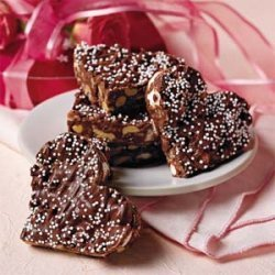 Crispy Chocolate Hearts recipe
