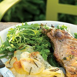 Easy Lettuce and Herb Salad recipe