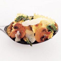 Ravioli With Mushrooms and Chard recipe