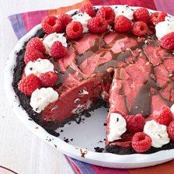 Berry Cookies-and-Cream Ice Cream Pie recipe