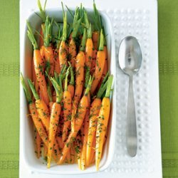 Baby Carrots with Dill, Butter, and Lemon recipe