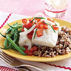 Cod Fillets with Horseradish Sauce recipe