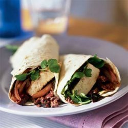 Zesty Tofu Wraps with Olive Tapenade recipe