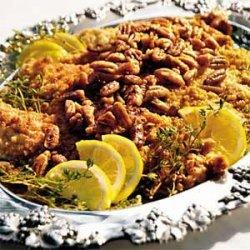 Catfish Pecan With Lemon-Thyme-Pecan Butter recipe