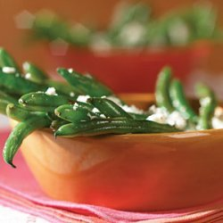 Green Beans in Vinaigrette with Feta recipe