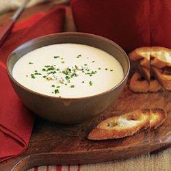 Potato, Onion and Blue Cheese Soup recipe