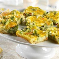 Broccoli Quiche Bites recipe