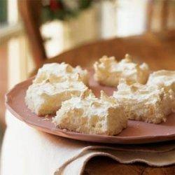 Lemon-Scented Coconut Macaroon Bars recipe