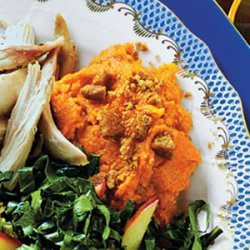 Mashed Sweet Potatoes with Autumn Spices recipe