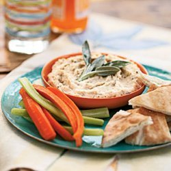 White Bean Dip with Rosemary and Sage recipe