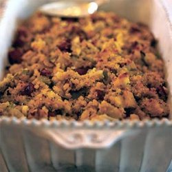Sausage, Apple, and Fennel Corn Bread Dressing recipe