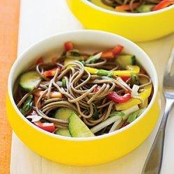 Cold Soba Salad with Crisp Vegetables recipe