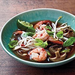 Spicy Shrimp Noodle Soup recipe