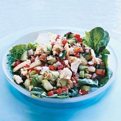 Salmon Salad with Dill Vinaigrette recipe