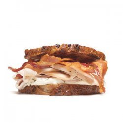 Turkey Sandwich With Cream Cheese and Bacon recipe