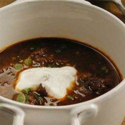 Real Texas Chili recipe