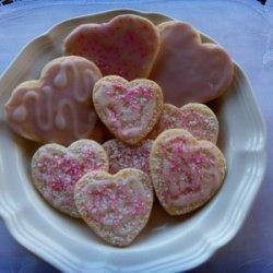 Low Fat Valentine Cookies recipe