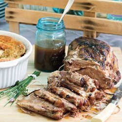Pork Roast With Carolina Gravy recipe