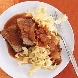 Slow-Cooker Recipe: Tuscan Pot Roast recipe