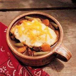 Beef Stew with Cheddar Dumplings recipe