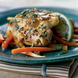 Chicken Thighs with Garlic and Lime recipe