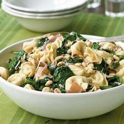 Pasta with Prosciutto and Spinach recipe