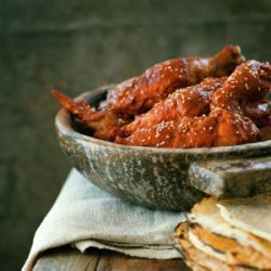 Yucatan Chicken in Red Sesame Sauce recipe