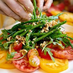 Heirloom Tomato and Haricot Vert Salad recipe