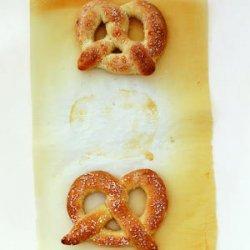 Hot Pretzels recipe