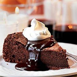 Chocolate Clementine Cake with Hot Chocolate Sauce recipe