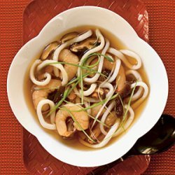 Udon Soup with Shrimp recipe