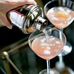 Pink Grapefruit and Lychee Cocktail recipe