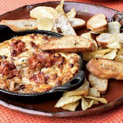 Hot Caramelized Onion Dip with Bacon and Gruyère recipe
